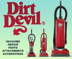 Dirt Devil Vacuums, Sales and Repair