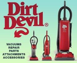 Dirt Devil Vacuums, Sales and Repair