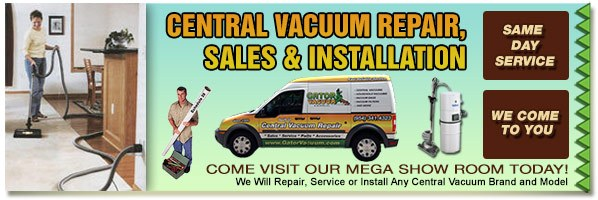 We Repair, Service or Install Any Central Vacuum Brand and More