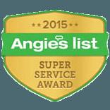Gator Vacuum earns esteemed Angie's List 2015 Super Service Award