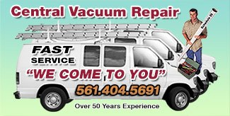 Gator Vacuum Central Vacuum Repair Van
