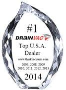 Drainvac Platinum Central Vacuum award