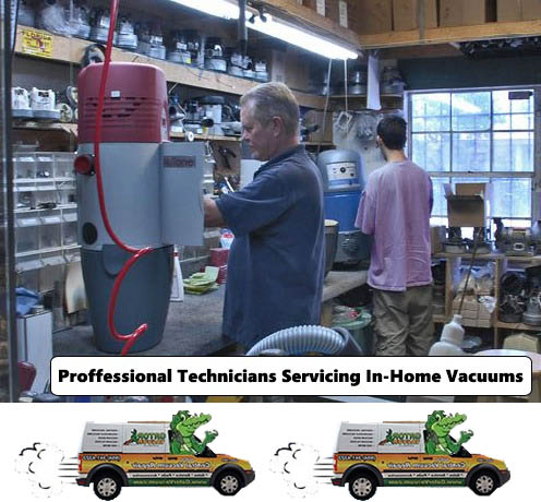 Central vacuum repair in Tamarac