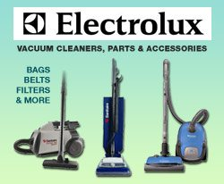 Electrolux vacuums