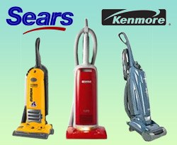 Sears Kenmore Household Vacuums Authorized Sears Kenmore
