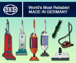SEBO Vacuums
