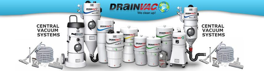 DrainVac Central Vacuum Sales, Repair & Installation serving South Florida