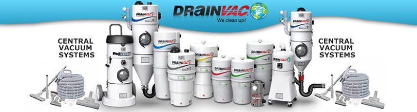 DrainVac Central Vacuum Sales, Repair & Installation serving South Florida
