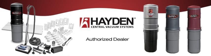 Hayden Central Vacuum Local Sales, Repair & Installation serving South Florida