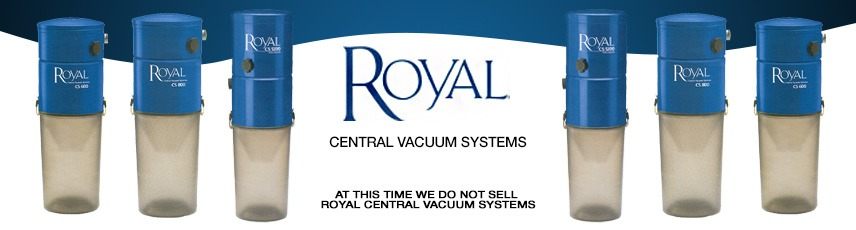 Royal Central Vacuum Local Sales, Repair & Installation serving South Florida