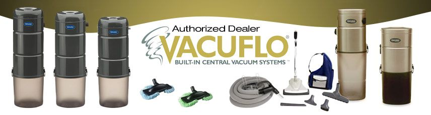 Vacuflo Central Vacuum Local Sales, Repair & Installation serving South Florida