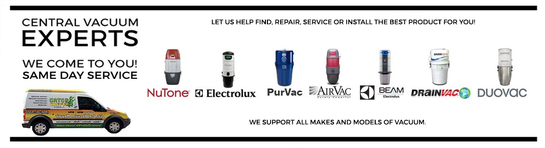 Central Vacuums Sales, Service & Repair by Gator Vacuums in Coral Springs, FL