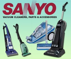 Sanyo Vacuum Cleaners - Best Sales, Repair, Service : Gator Vac