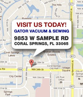 Sewing Machine Repair Locations in Coral Springs