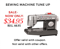 Sewing Machine Repair Tune-Up
