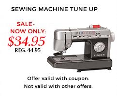 Sewing Machine Repair Tune-Up