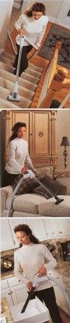 Using a central vacuum system is a breeze for cleaning!