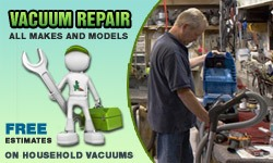 We repair Sanitaire vacuum cleaners